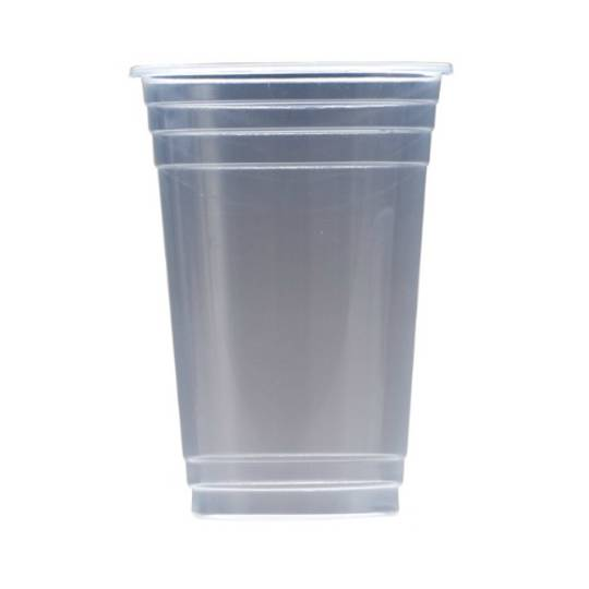 520ml Clear Polypropylene Cups x 50