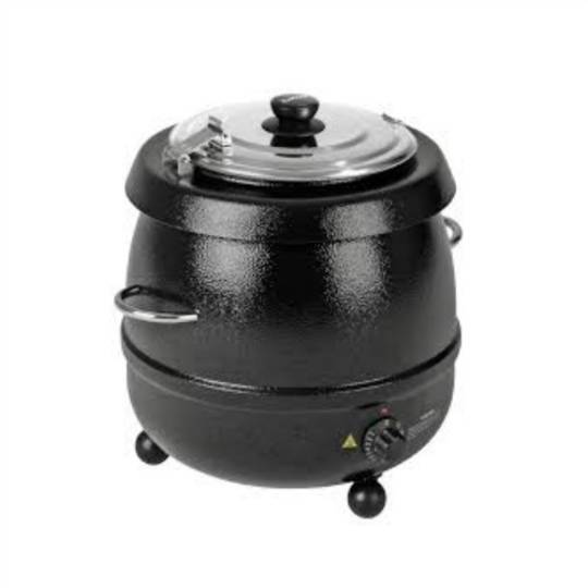 Birko Soup Kettle with Handles - Black 9L