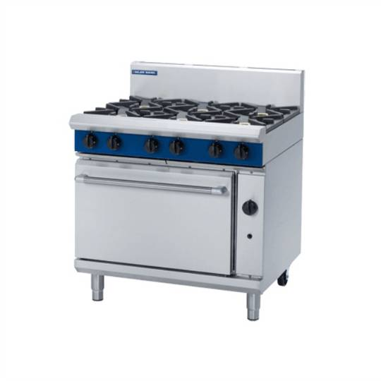 Blue Seal G506D 900mm Gas Range Static Oven - 2/1 GN 6 Burner