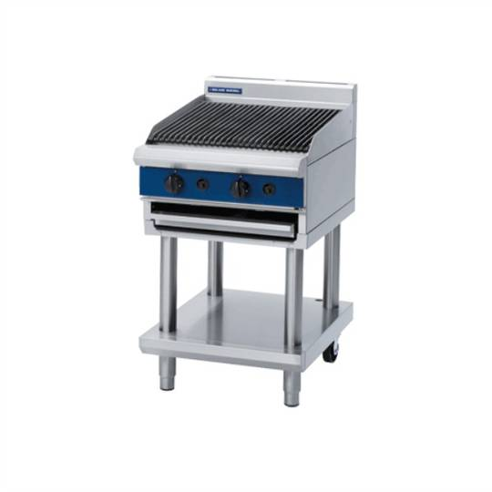 Blue Seal G594-LS 600mm Gas Chargrill - Leg Stand
