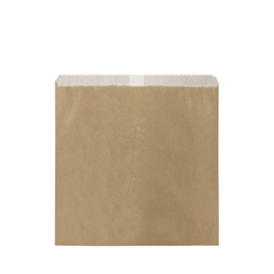 2 Square GPL Brown Bag x 500