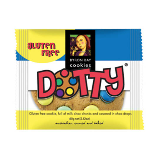 BBCC Gluten Free Dotty Single Wrapped Cafe Cookie x 12
