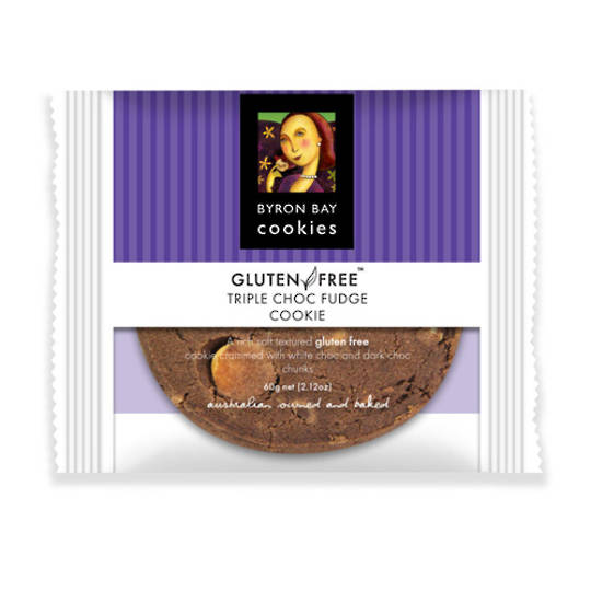 BBCC Gluten Free Triple Choc Fudge Single Wpd Café Cookie x12