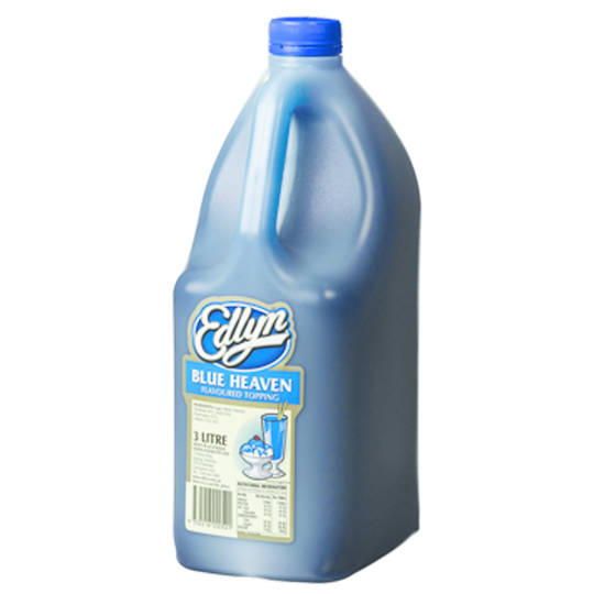 Edlyn Blue Heaven Flavoured Topping 3L