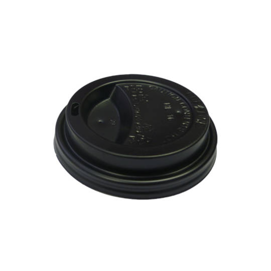 EYC & Esp G Black 12/16oz Travel Lids x 1000