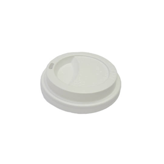 EYC & Esp G White 8oz Travel Lids x 50
