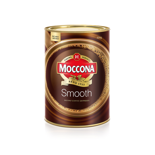 Moccona Smooth Instant Coffee 500gm Can