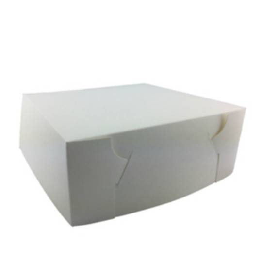 No 10 Cake Boxes 254 x 254 x 112mm 400um x 50