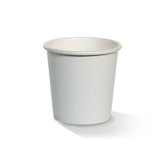 Pac 4oz White Single Wall Cups x1000