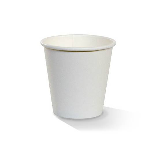 PAC 8oz White Single Wall Cups x 1000
