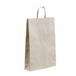 Large Brown Paper Bags 500x450+120 Twisted handle x 250