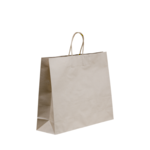 Brown Paper Midi Bags 420x320+110 Twisted Handle x 250