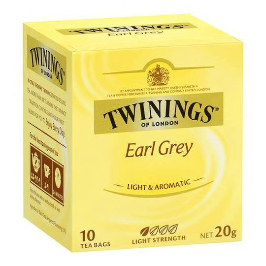 Twinings Earl Grey Tea 12x10's