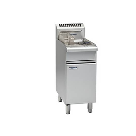 Waldorf FN8118G 450mm Fast Fri Single Pan Gas Fryer/18L Capacity