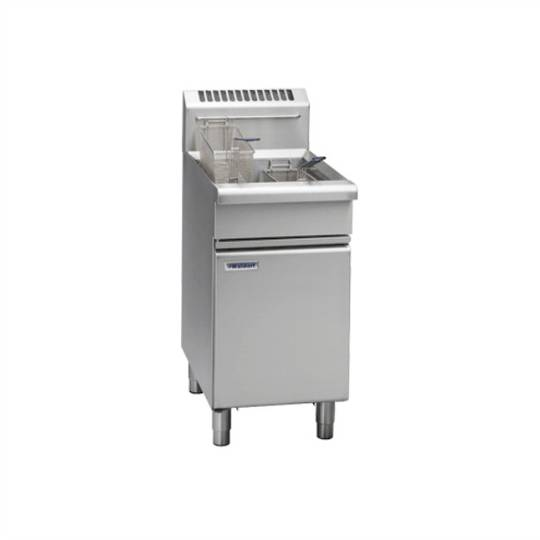 Waldorf FN8120G 450mm F/Fri Sgl Pan Gas Fryer/20L Capacity