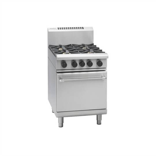 Waldorf RN8410G 600mm Gas Range Static Oven - 1/1 GN