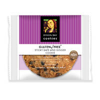 BBCC Gluten Free Sticky Date & Ginger Single Wpd Café Cookie