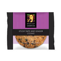BBCC Sticky Date & Ginger Single Wpd Café Cookie
