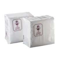 2 Ply White Luncheon Napkins x 100 2LWE