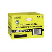 Lipton Yellow Label Tea Envelopes x 500