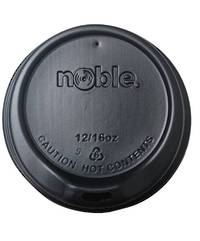 Noble 12/16 oz BLACK Sipper Lids x 1000