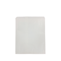 8 Long White Paper Bag x 500